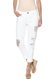 Elan White Denim Boyfriend - Product Mini Image