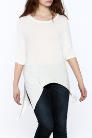 Elan White Dolman Sleeve Top - Product Mini Image