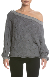 Elan Wide Neck Sweater - Front cropped