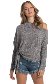 Elan Wide Neck Top - Product Mini Image