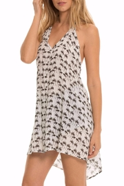 Elan Woven Halter Dress - Product Mini Image