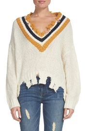 Elan Zara Distressed Sweater - Product Mini Image