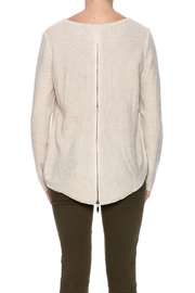 Elan Zip Back Sweater - Product Mini Image