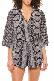 Elan Black Gypsy Romper - Product Mini Image