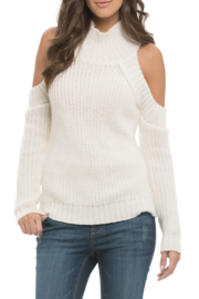 Elan Cold Shoulder Turtleneck - Product Mini Image