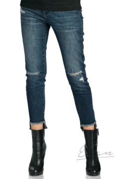 Shoptiques Product: Cut- Off Fray Jeggings