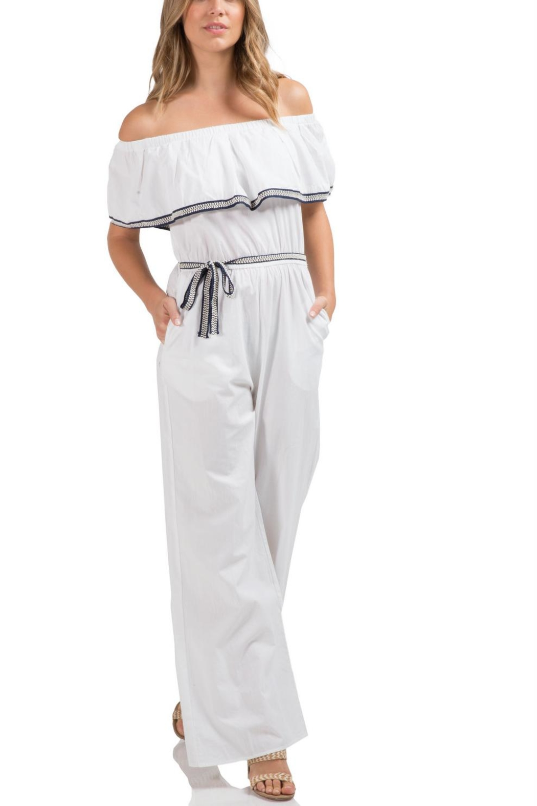 Elan International Nantucket Jumpsuit - Main Image
