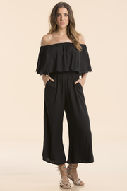 Elan Off The Shoulder Jumpsuit - Product Mini Image