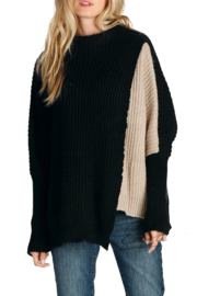 Elan Penguin Overlap Sweater - Product Mini Image