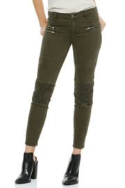 Elan Pleated Jeggings - Product Mini Image