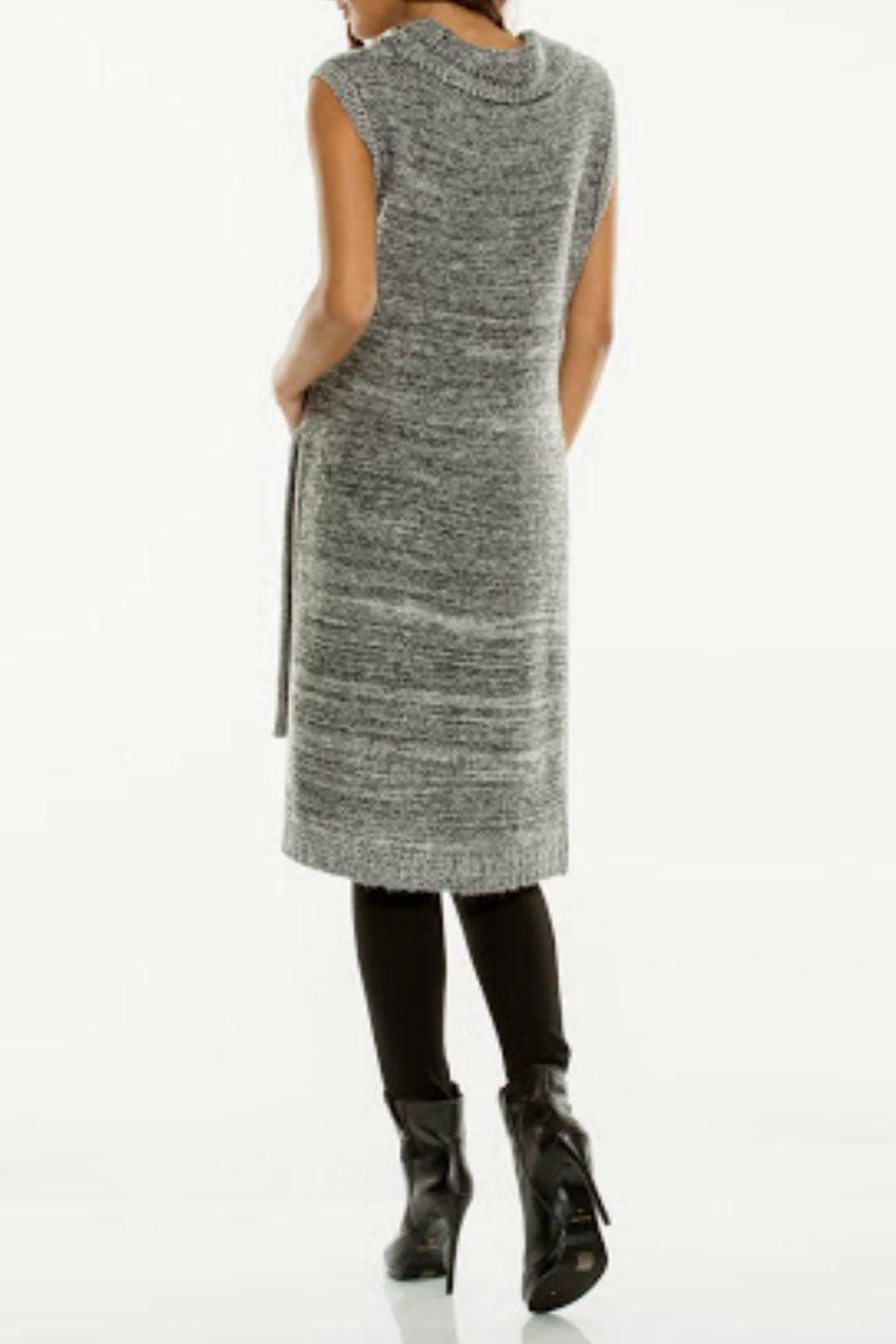 Elan Sleeveless Tunic Sweater - Front Full Image