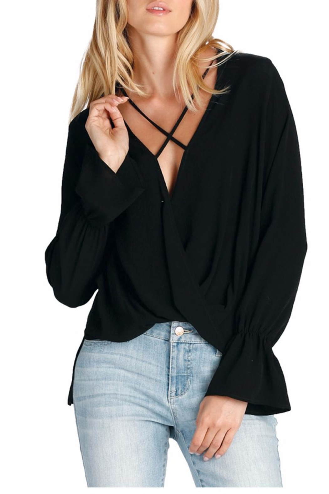 Elan International Top Cross Front - Front Cropped Image