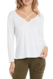 Elan X-Neck Top - Product Mini Image