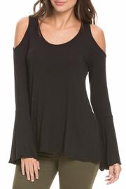 Elan Cold Shoulder Top - Product Mini Image