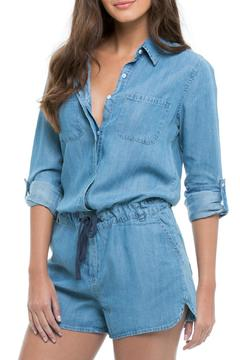 Shoptiques Product: Denim Romper