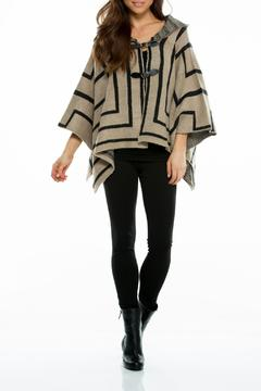 Shoptiques Product: Geometric Sweater Poncho
