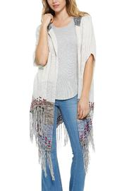 Elan Hooded Long Cardigan - Product Mini Image