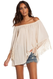 Elan Off-Shoulder Boho Tunic - Product Mini Image