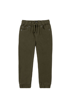 Shoptiques Product: Elastic Twill Jogger Pants