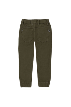Deux Par Deux Elastic Twill Jogger Pants - Alternate List Image