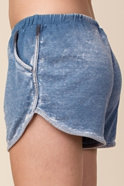 Wild Honey Elastic-Waist Dolphin Mini-Shorts - Other