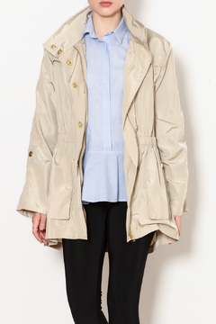 Ciao Milano Elastic Waist Hooded Rain Jacket - Product List Image