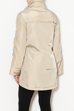 Ciao Milano Elastic Waist Hooded Rain Jacket - Alternate List Image
