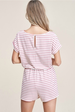 Staccato Elastic Waist Romper - Alternate List Image