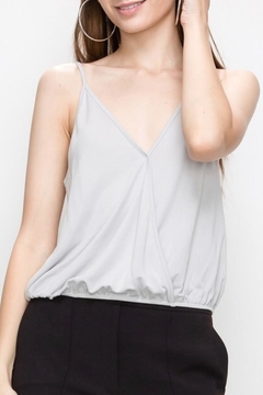 Double Zero Elastic Waist Tank - Alternate List Image