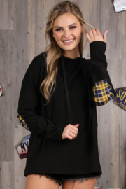 Ninexis Elbow Patch Hoodie - Product Mini Image
