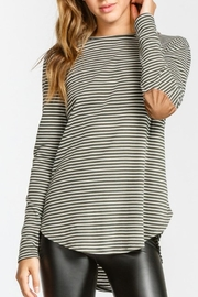 Cherish Elbow Patch L/s - Front cropped