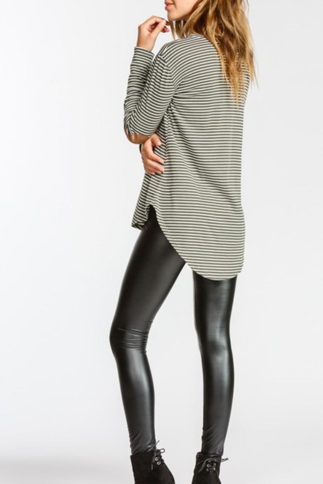 Cherish Elbow Patch L/s - Front Full Image