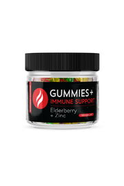 Green Flame Hemp Elderberry + Zinc Immune Gummy Bears - Product Mini Image