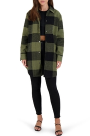 BB Dakota Eldridge Plaid Coat - Product Mini Image