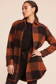 BB Dakota Eldridge Plaid Jacket - Product Mini Image