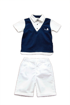 Ele-Baby Polo & Capri Shorts Set - Alternate List Image
