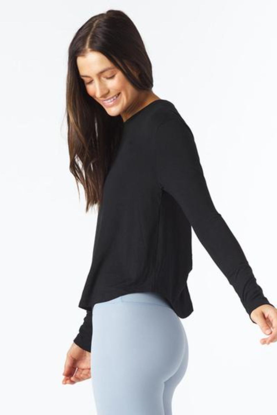 Glyder Electric Long Sleeve Top - Front Full Image