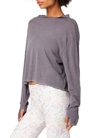 Electric & Rose Basin Mock Neck - Product Mini Image