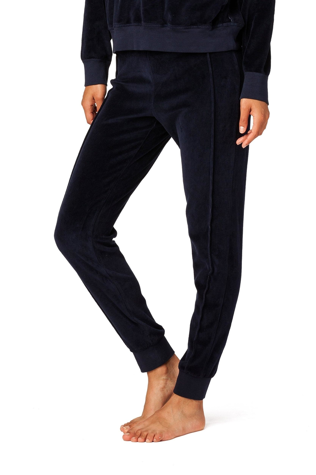 Electric & Rose Chase Velour Sweatpant - Side Cropped Image