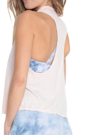 Electric & Rose Flower Tank Rose - Front full body