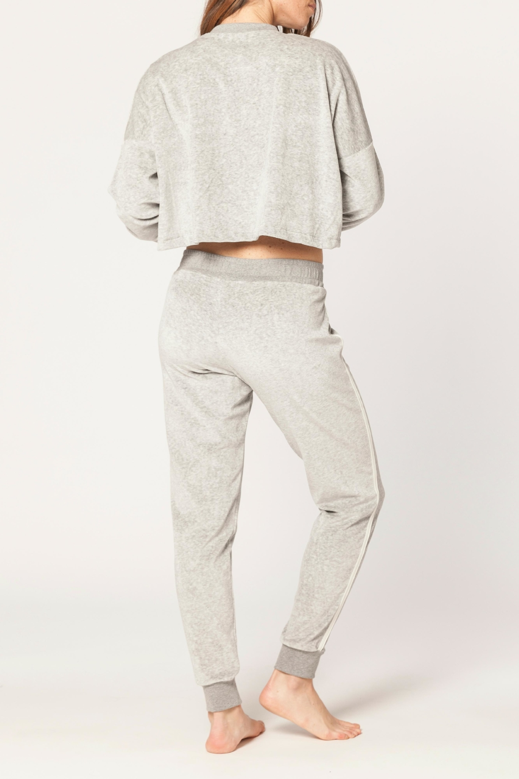 Electric & Rose Oak Track Pant - Side Cropped Image
