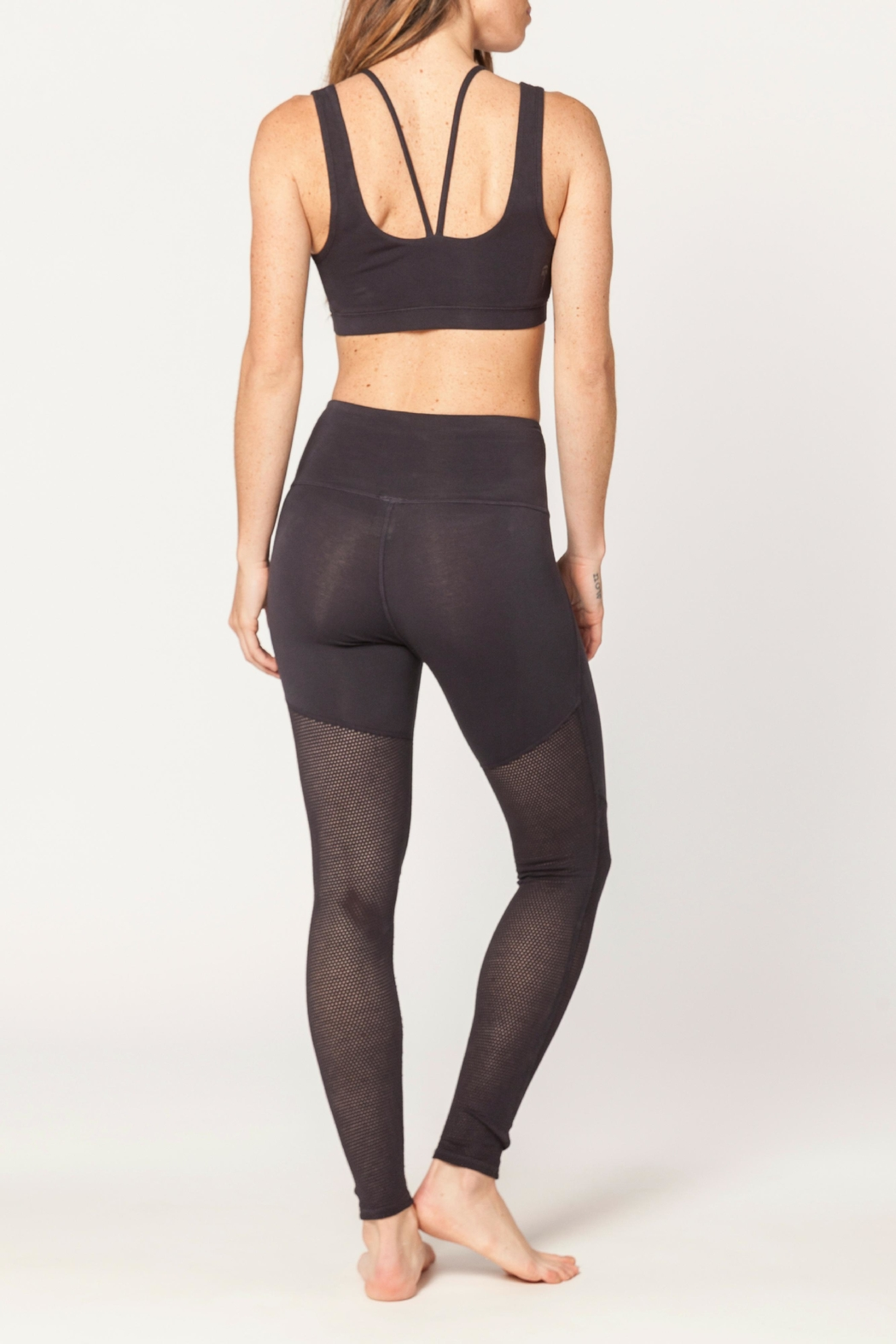 Electric & Rose Pier Legging - Side Cropped Image