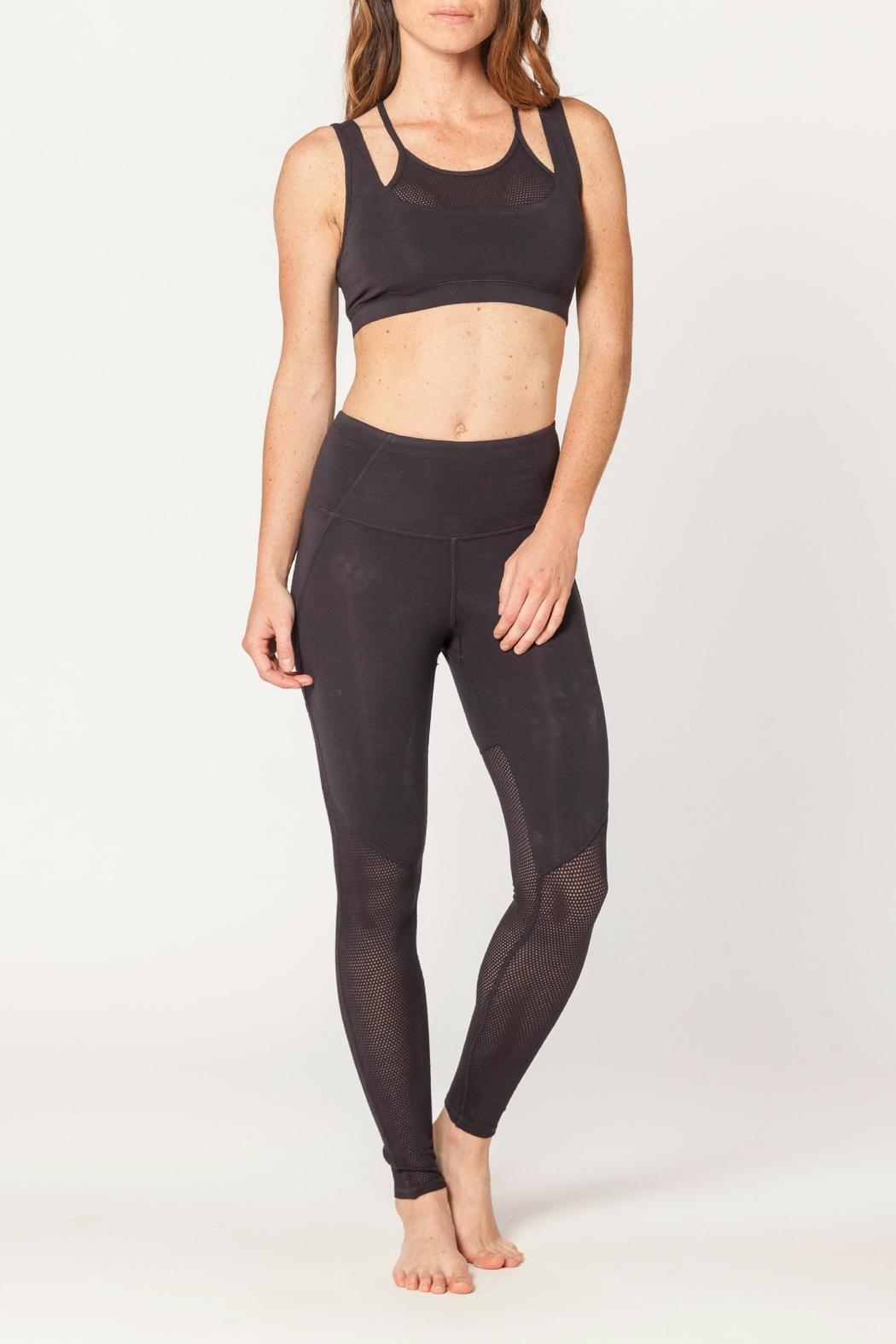 Electric & Rose Pier Legging - Front Cropped Image