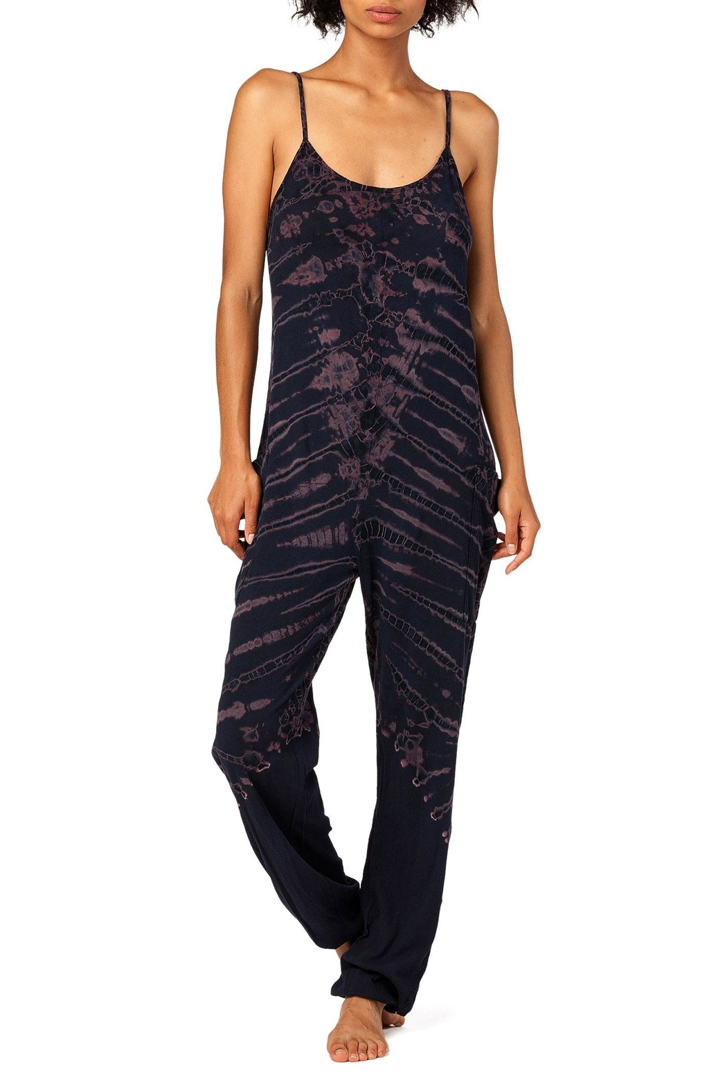 Electric & Rose Playa Jumpsuit - Front Cropped Image