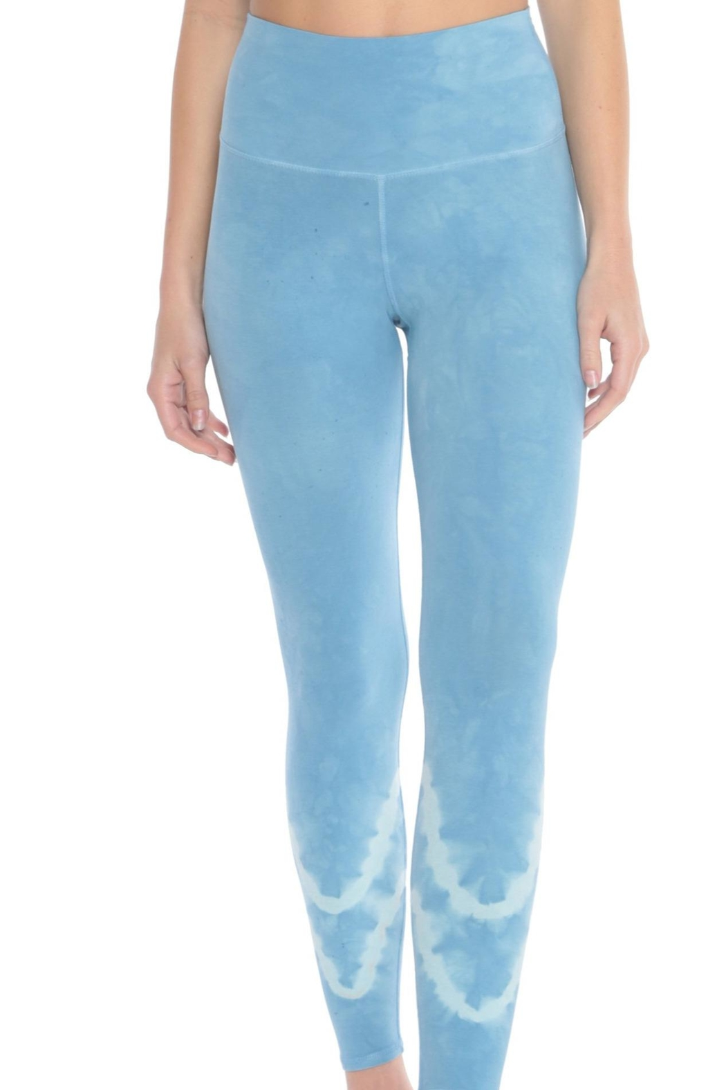 Electric & Rose Sunset Legging Pacific-Mist - Side Cropped Image