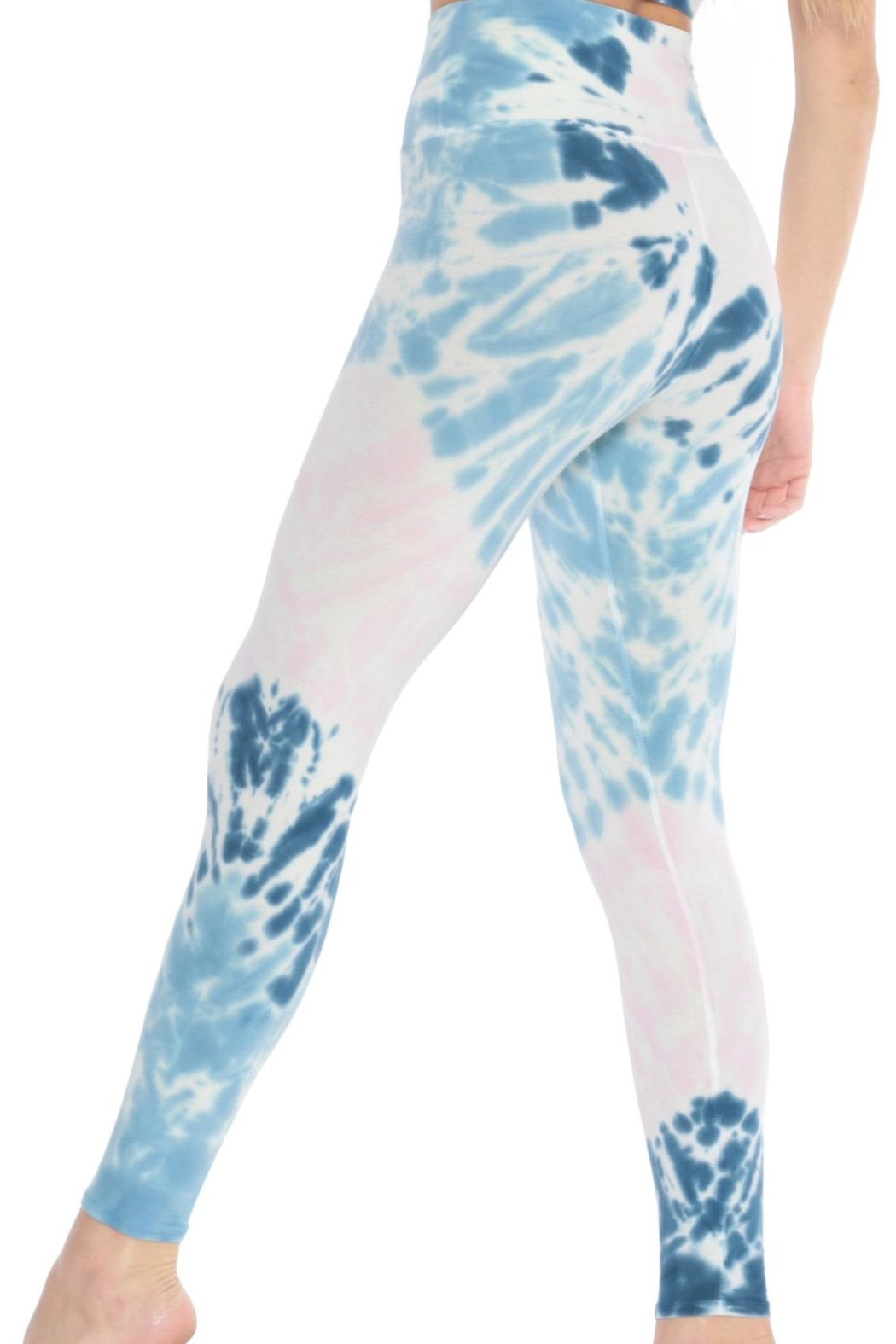 Electric & Rose Sunset Legging Pacific-Rose - Side Cropped Image
