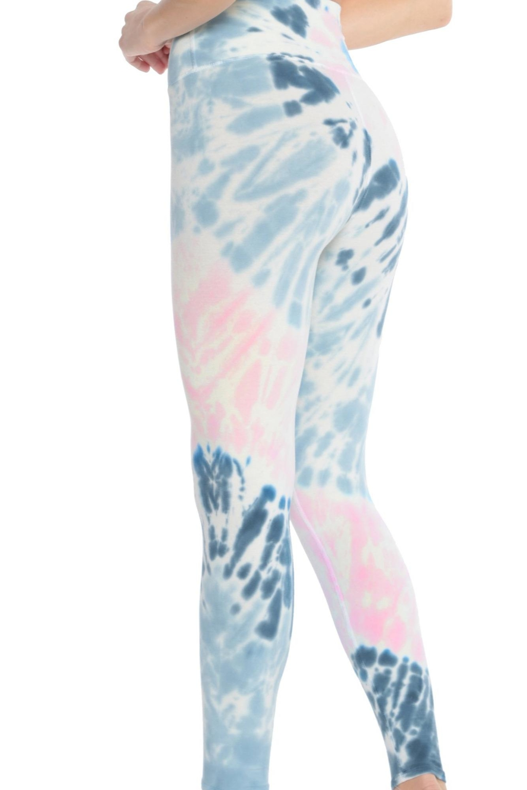 Electric & Rose Sunset Legging Pacific-Rose - Front Full Image