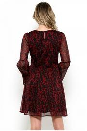 Elegance by Sarah Ruhs Bell Sleeve Tunic Dress - Front full body