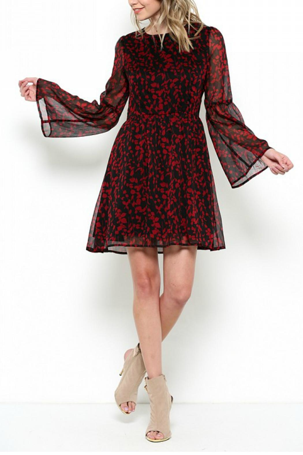 Elegance by Sarah Ruhs Bell Sleeve Tunic Dress - Main Image