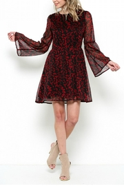 Elegance by Sarah Ruhs Bell Sleeve Tunic Dress - Front cropped